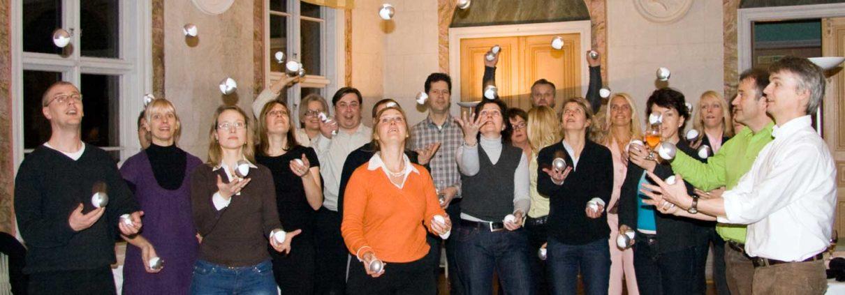företagsaktivitet jonglering